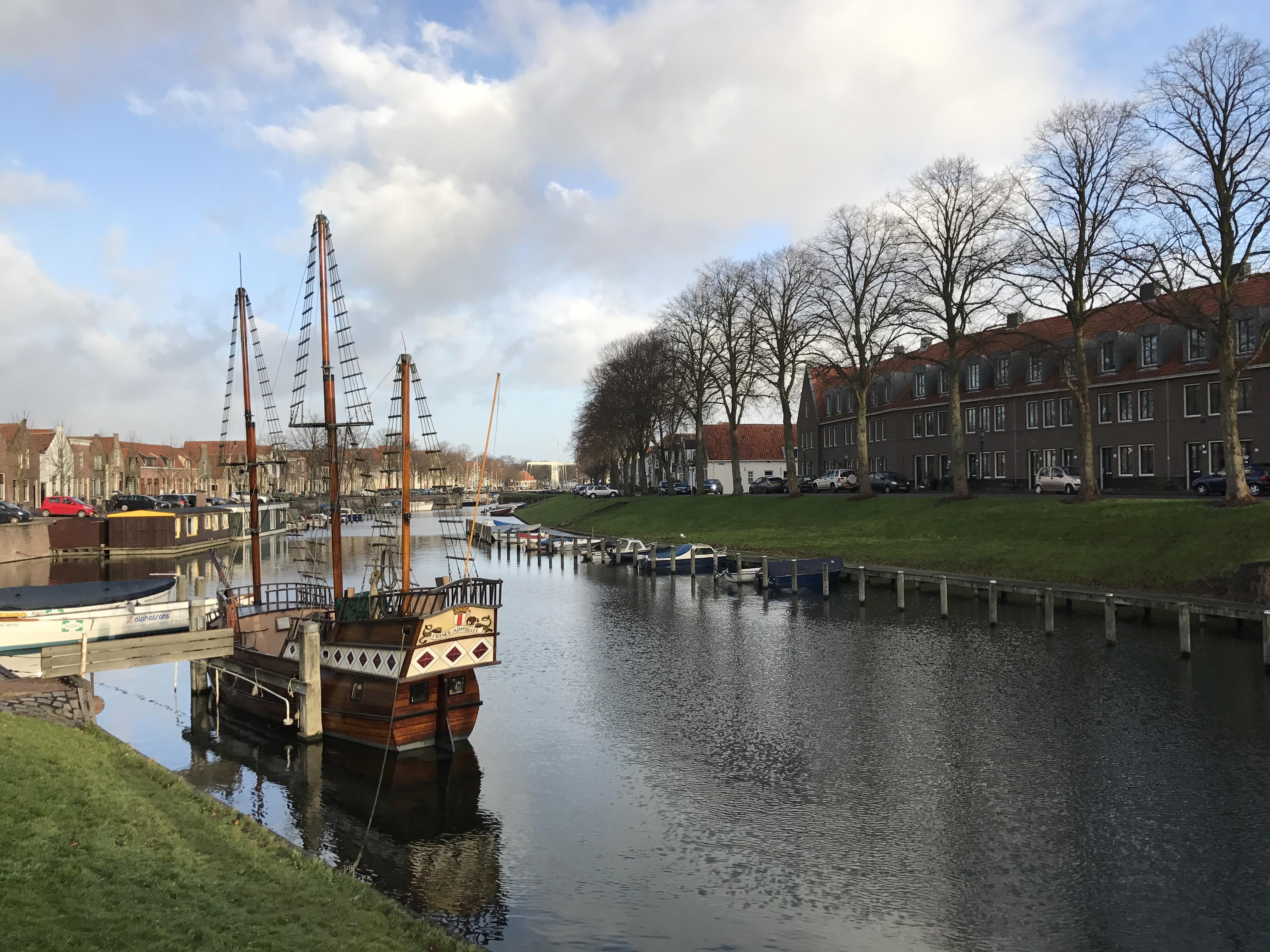 De oude haven van Maarland