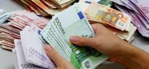 Brief geld